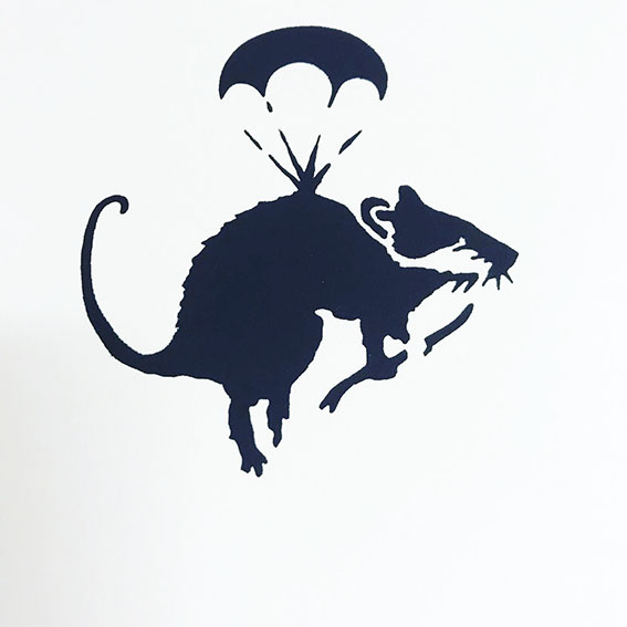 Stender - King Rat Screenprint